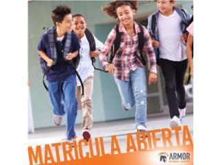 MATRICULA ABIERTA ARMOR ACADEMY PPK-4TO AÑO