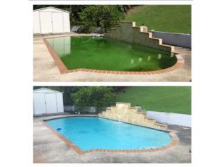 Mantenimiento de piscina y servicio de fumigacion