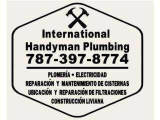 San Juan - Viejo SJ Puerto Rico Apartamento, PLOMERIA, ELECTRICIDAD, CISTERNAS, LOZAS
