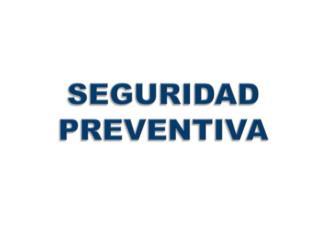 Seguridad Patrullaje Preventivo