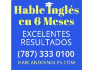 Hable Ingles en 6 Meses AYUDAS DISPONIBLES Clasificados Online  Puerto Rico