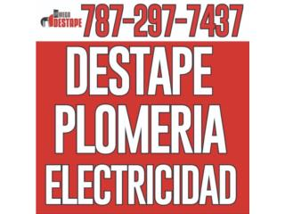 PLOMEROS PARA TODO TIPO DE TRABAJOS 24-7