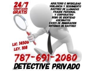 DETECTIVE PRIVADO/FRAUDE PERSONAL Y CORPORATIVO