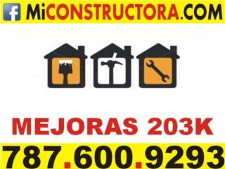 Lic Daco Mejoras Banco FHA 203k 203 K Clasificados Online  Puerto Rico