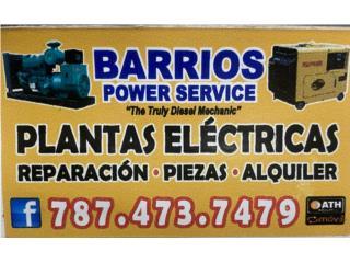 Vega Alta Puerto Rico Equipo Comercial, Generadores eléctricos