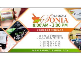 Farmacia SoniaQuedateEnCasa ClasificadosOnline Puerto Rico