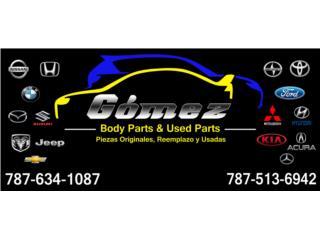 Gomez Body Parts & Used Parts QuedateEnCasa ClasificadosOnline Puerto Rico