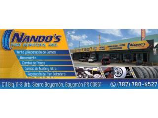 Nando's Tire Service,IncQuedateEnCasa ClasificadosOnline Puerto Rico