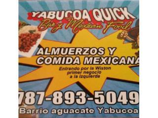 Yabucoa Quick Bar & Mexican FoQuedateEnCasa ClasificadosOnline Puerto Rico