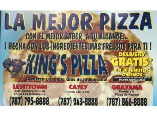 King Pizza QuedateEnCasa ClasificadosOnline Puerto Rico