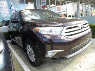Toyota, Toyota, Highlander 2013, Supra Puerto Rico