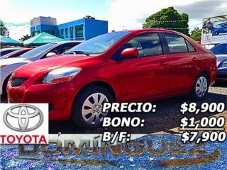Toyota, Toyota, Yaris 2012, Supra Puerto Rico