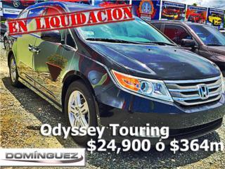 Honda, Odyssey 2011, Ford Puerto Rico