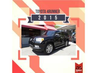 Toyota, Toyota, 4Runner 2015, Paseo Puerto Rico