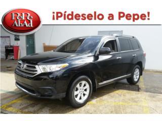 Toyota, Toyota, Highlander 2012, Paseo Puerto Rico