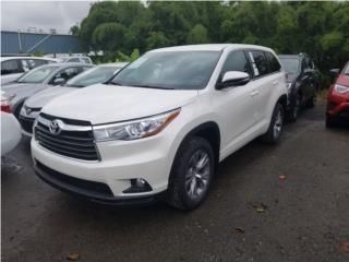 Toyota, Highlander 2016, Toyota Puerto Rico