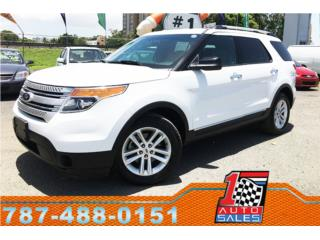 Ford, Explorer 2013, F-150 Pick Up Puerto Rico