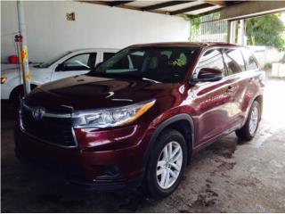 Toyota, Toyota, Highlander 2016, Paseo Puerto Rico
