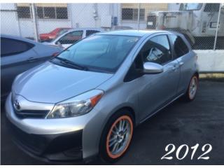 Toyota Puerto Rico Toyota, Yaris 2012