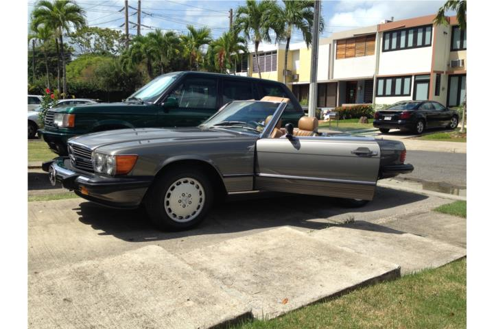 Mercedes benz clase sl del 1989 clasificados online for Mercedes benz san juan puerto rico