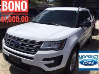 Ford, Explorer 2017, F-150 Pick Up Puerto Rico