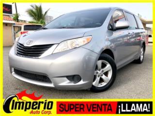 Toyota Puerto Rico Toyota, Sienna 2012