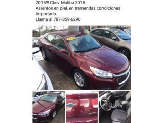 Chevrolet Puerto Rico Chevrolet, Malibu 2015