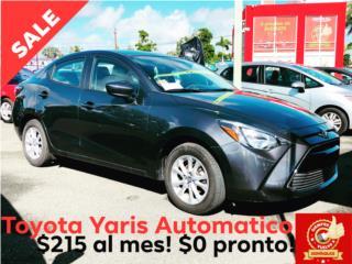 Toyota Puerto Rico Toyota, Yaris 2017