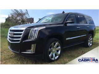 Cadillac Puerto Rico Cadillac, Escalade 2018