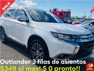 Mitsubishi Outlander 2018 3 Filas , Mitsubishi Puerto Rico