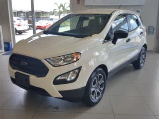 FORD ECOSPORT 2018  S  SE  ROJA , Ford Puerto Rico
