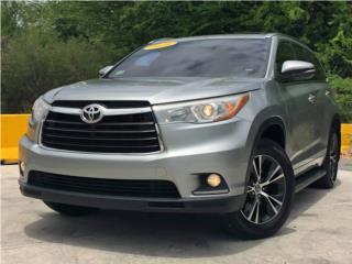 Toyota, Highlander 2016, Corolla Puerto Rico