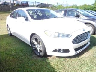 Ford Puerto Rico Ford, Fusion 2013