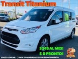 Ford Transit 2017 , Ford Puerto Rico