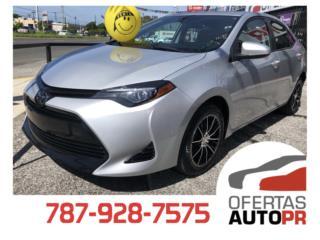 Toyota, Corolla 2018  Puerto Rico