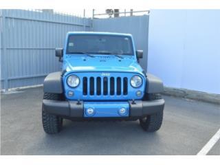 JEEP WRANGLER 2017 , Jeep Puerto Rico