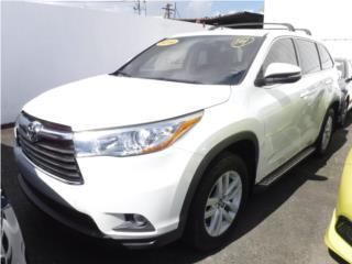 Toyota Puerto Rico Toyota, Highlander 2016