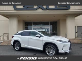 RX 350L 3-FILAS DE ASIENTOS- REFRESH 2020 , Lexus Puerto Rico