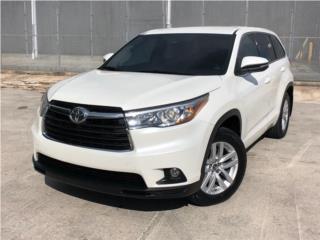 Toyota, Highlander 2016  Puerto Rico