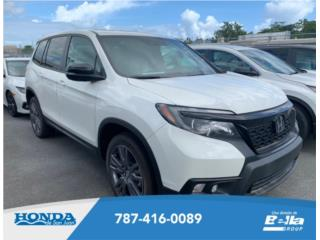 HONDA PASSPORT EX-L *AWD* 2019! *ULTIMAS! , Honda Puerto Rico