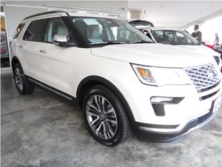 Ford, Explorer 2018, F-150 Puerto Rico