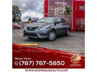 Nissan Puerto Rico Nissan, Versa 2017