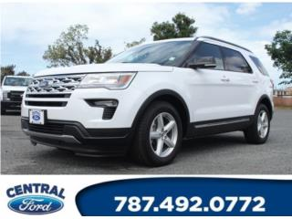 Ford, Explorer 2018, F-500 series Puerto Rico