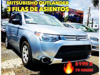 OUTLANDER GT V6 HASTA 22MPG , Mitsubishi Puerto Rico