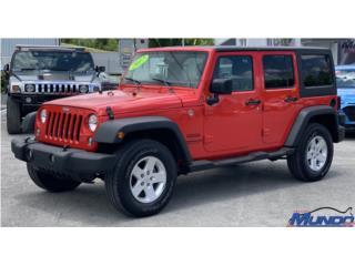 Jeep, Wrangler 2017  Puerto Rico