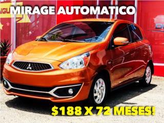 MIRAGE HATCHBACK NUEVA! , Mitsubishi Puerto Rico