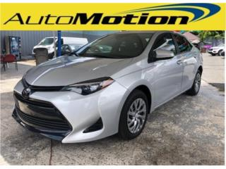 Toyota, Corolla 2019, Ford Puerto Rico