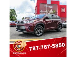 Toyota Puerto Rico Toyota, Highlander 2017
