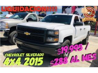 Chevrolet Puerto Rico Chevrolet, Silverado 2015