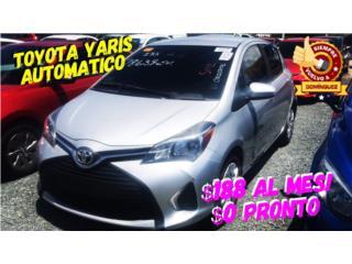 Toyota, Yaris 2017  Puerto Rico